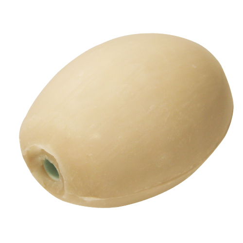 Savon lait d'amande rotatif - recharge - pour porte savon à écrou